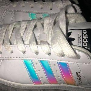 super popular ed08a 4e368 greece adidas superstar hologram white 7da7f 0dc91
